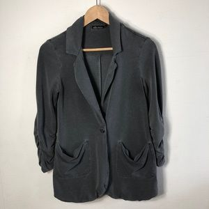 Ella Moss washed out gray casual blazer XS